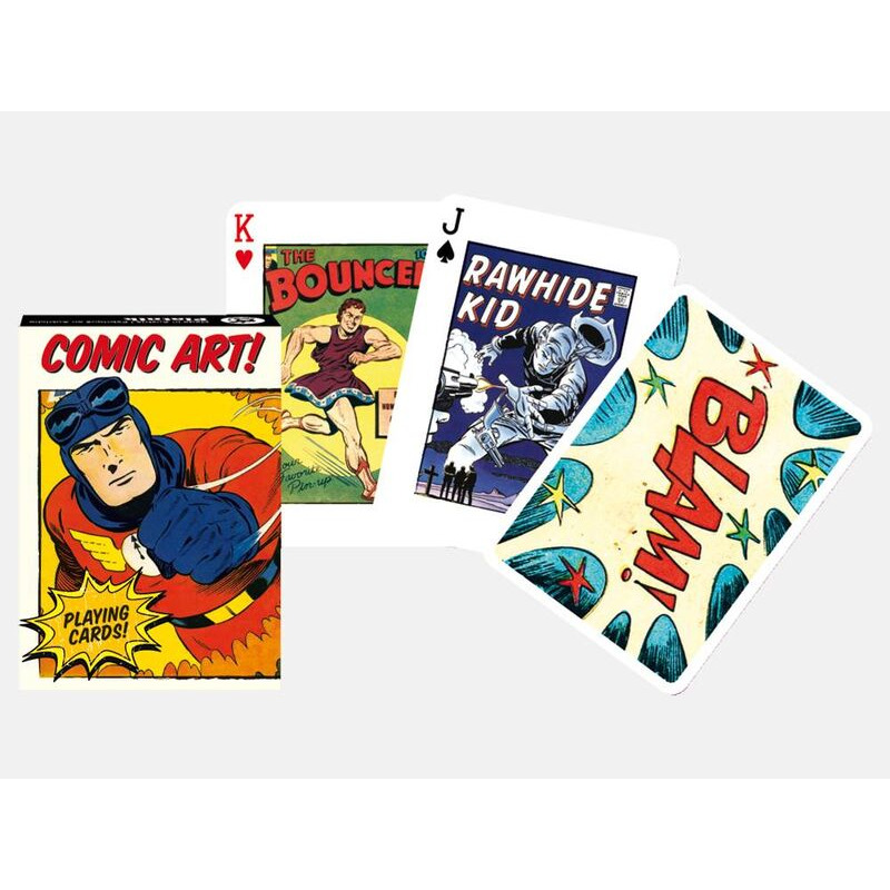 Playing Cards   Single Comic Art