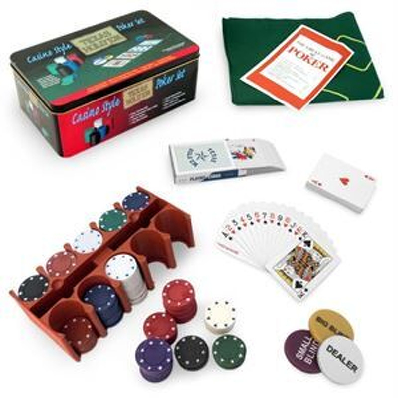 Poker Chips  200 Texas Hold Emand39