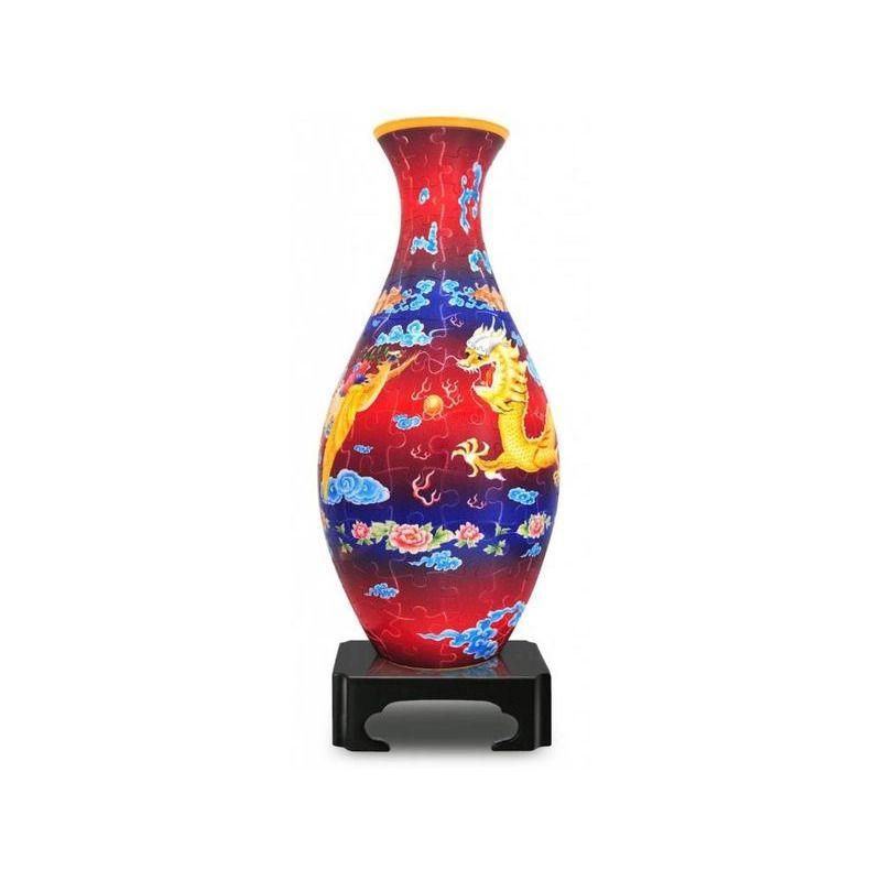 Puzzle Vase  Dragon and Phoenix