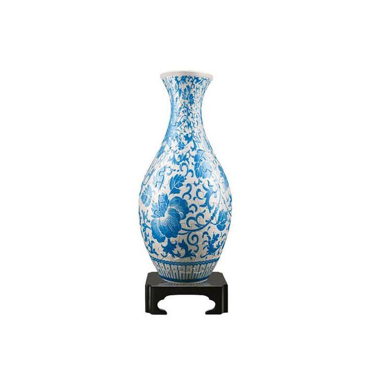Puzzle Vase  Oriental Floral