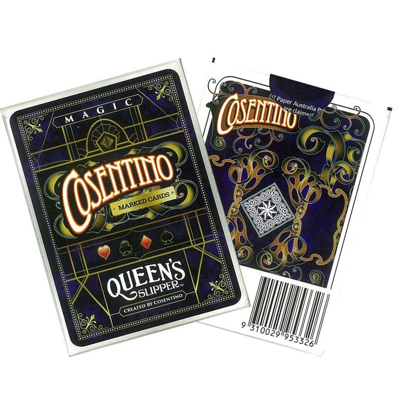 Queenand39s Slipper Magic Cosentino Marked Cards