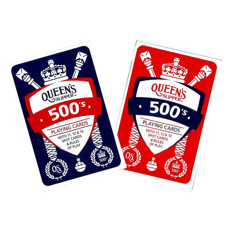 Queenand39s Slipper  500and39s Cards