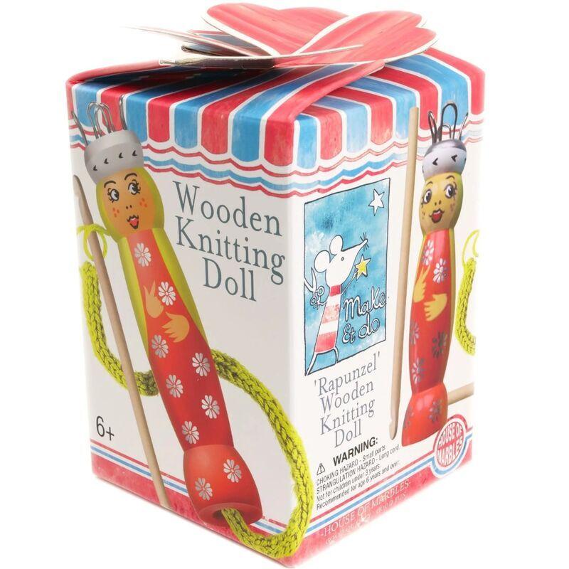 Rapunzel Knitting Doll Kit