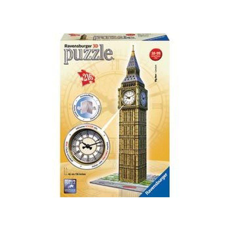 Ravensburger  3D Puzzle Big Ben with working clock