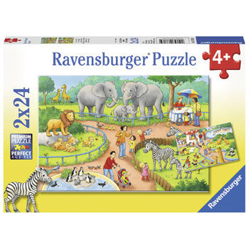 Ravensburger  A Day at The Zoo