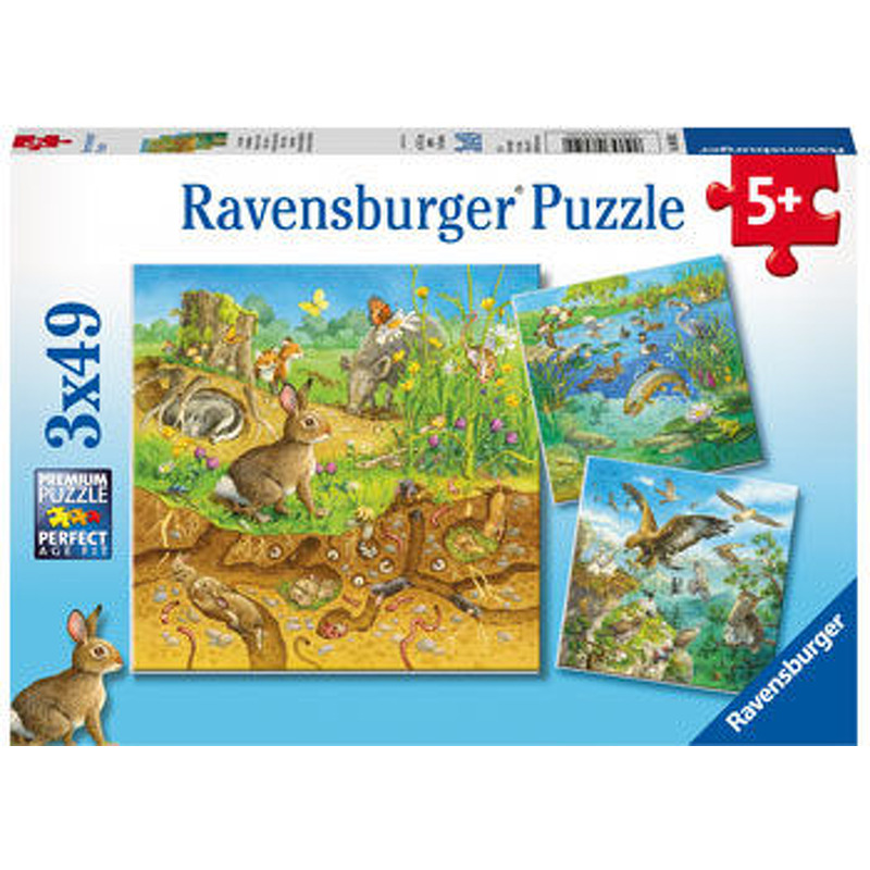 Ravensburger  Animals in their Habitats