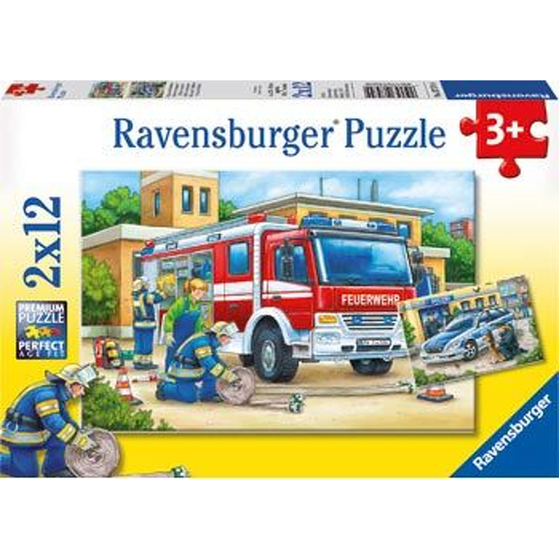 Ravensburger  Police and Firefighters