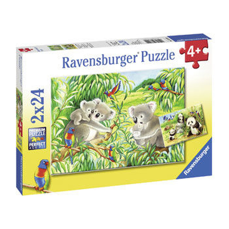 Ravensburger  Sweet Koalas and Pandas