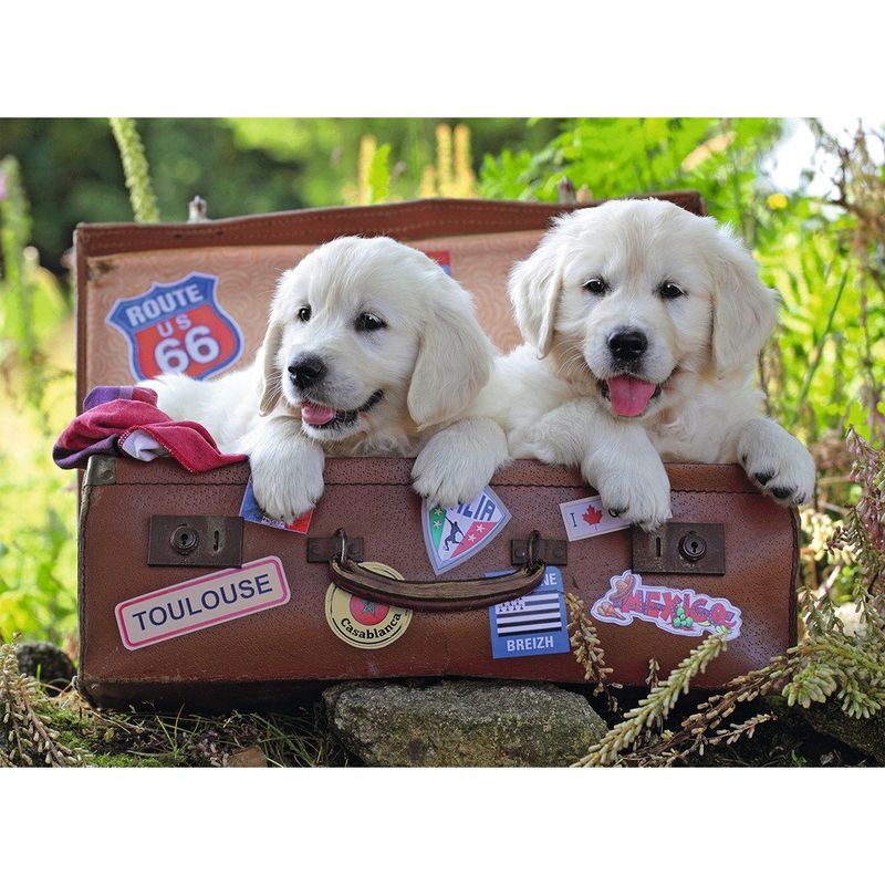 Ravensburger  Travelling Puppies