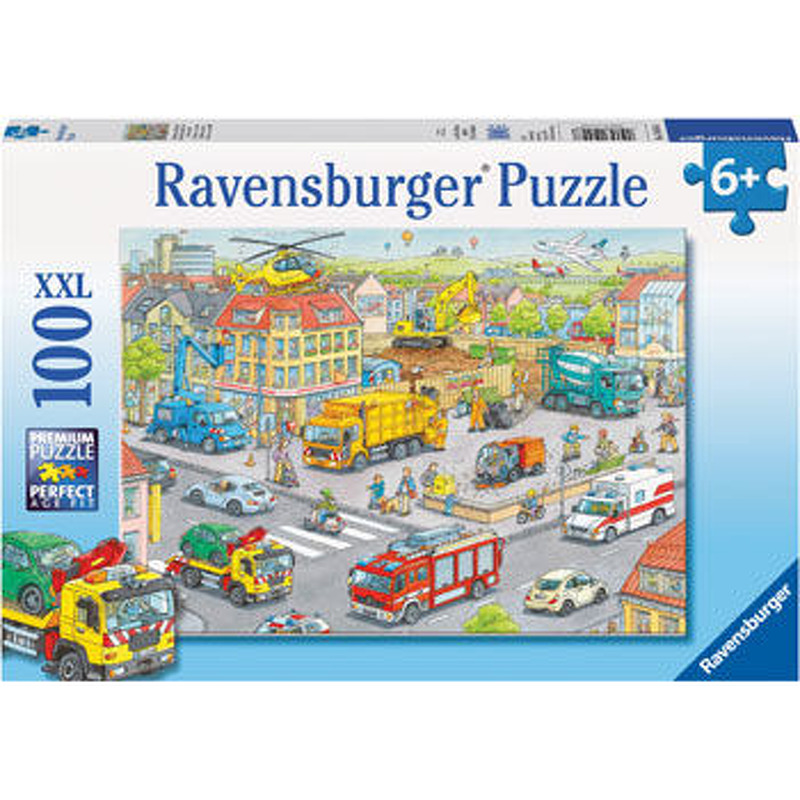 Ravensburger  Vehicles in the City