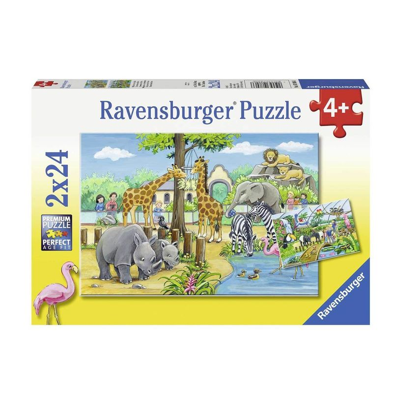 Ravensburger  Welcome to the Zoo