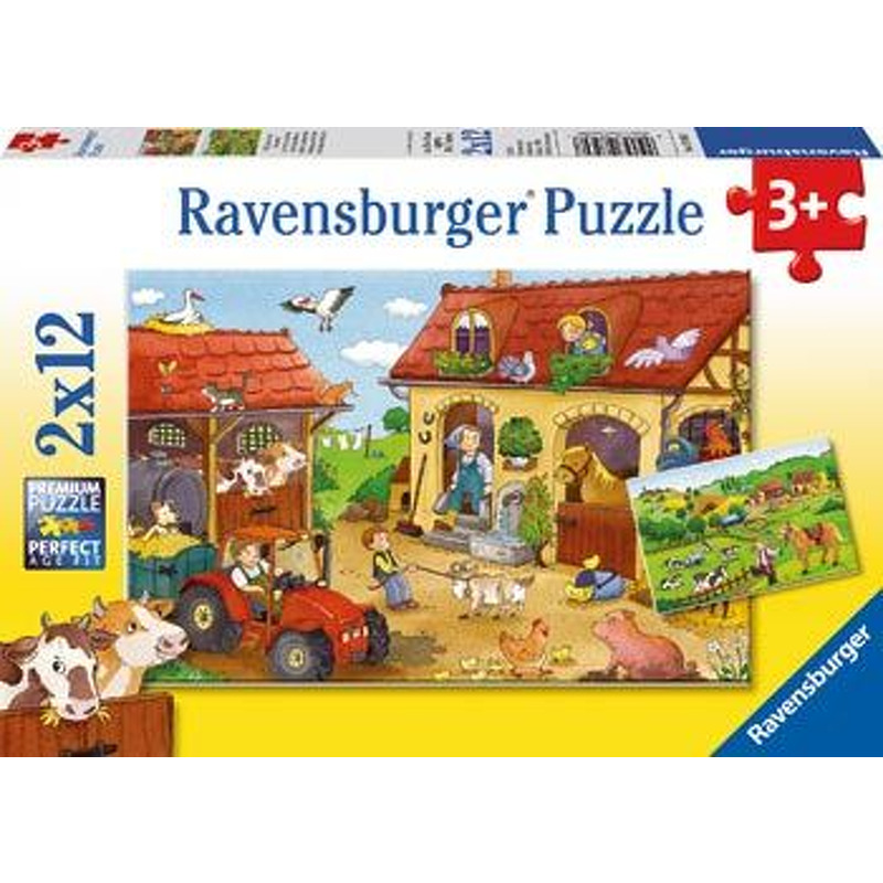 Ravensburger  Working on the Farm