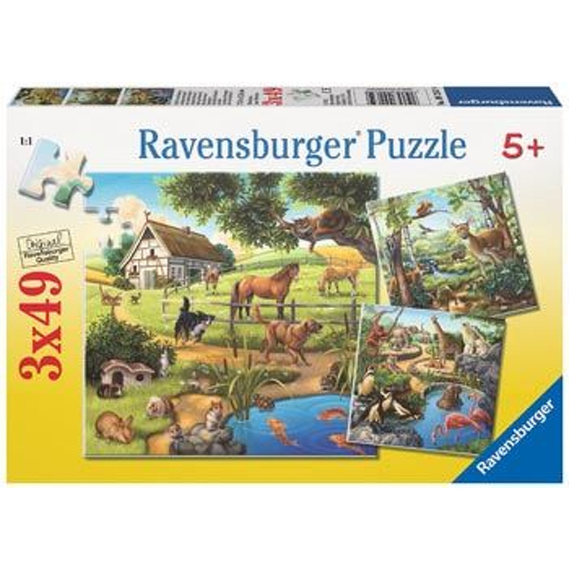 Ravensburger   Forest Domestic Zoo