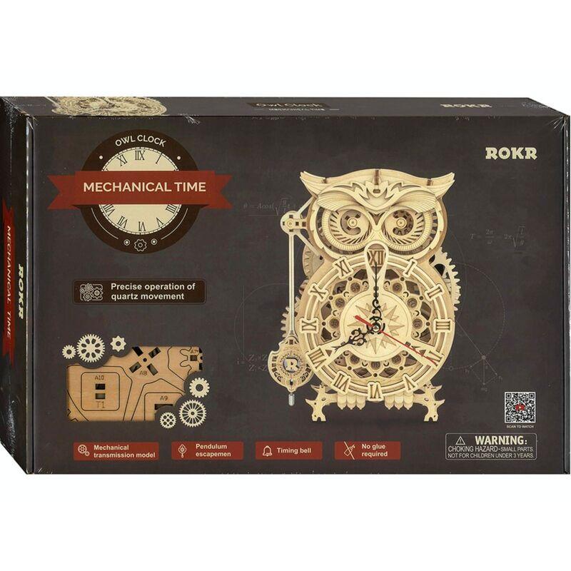 Robotime  Mechanical Time Owl