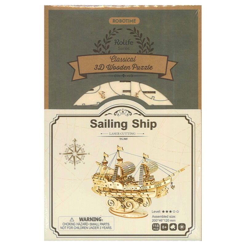 Robotime  Sailing Ship