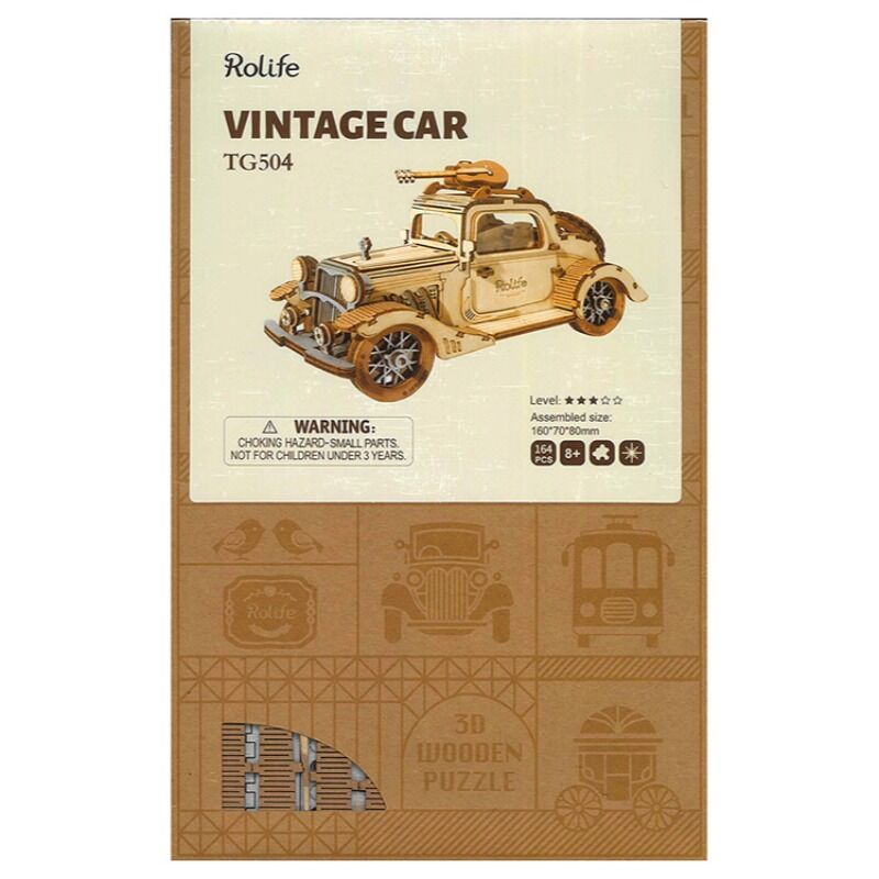 Robotime  Vintage Car