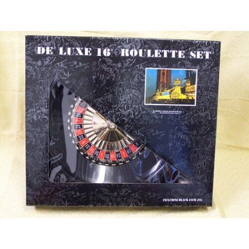 Roulette andamp Blackjack Deluxe set 16andquot