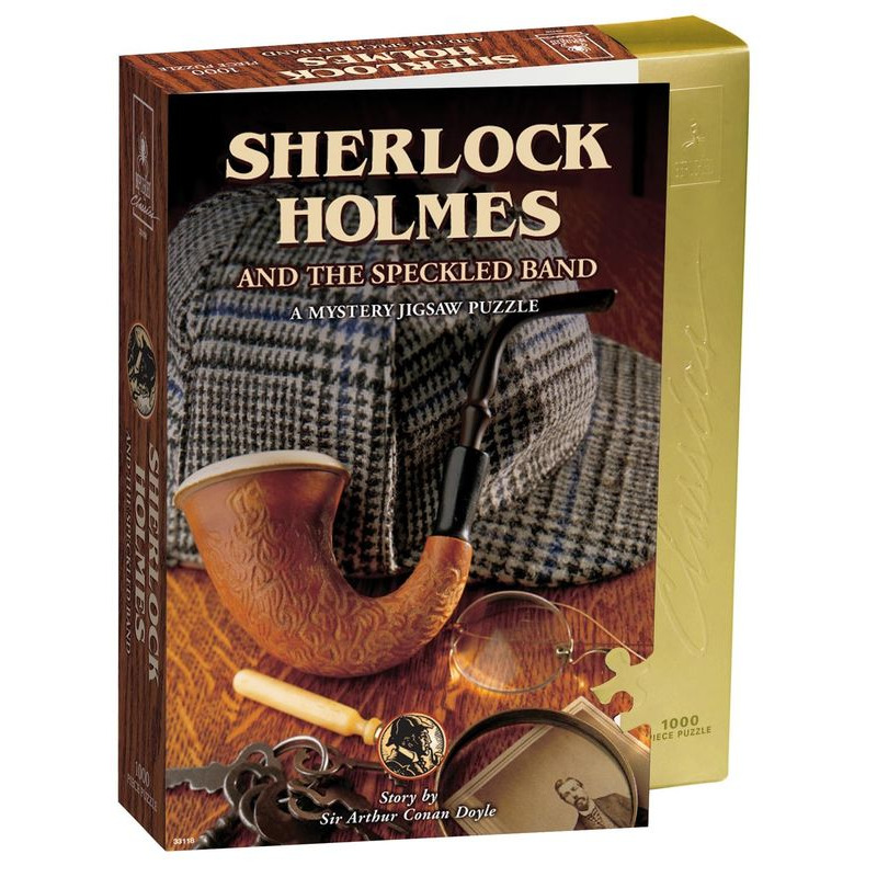 Sherlock Holmes and the Speckled Band Mystery Puzzle