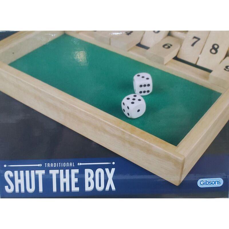Shut the Box Wooden   Gibson