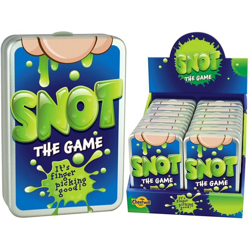 Snot Card Game in Tin