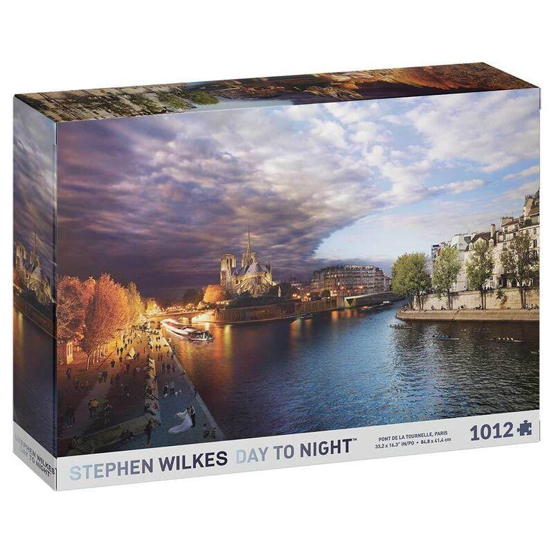 Stephen Wilkes Day to Night  Paris Pont de Tournelle