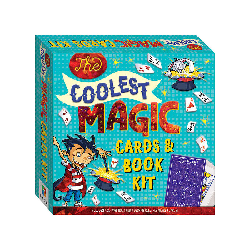 The Coolest Magic Tricks Cards + Book
