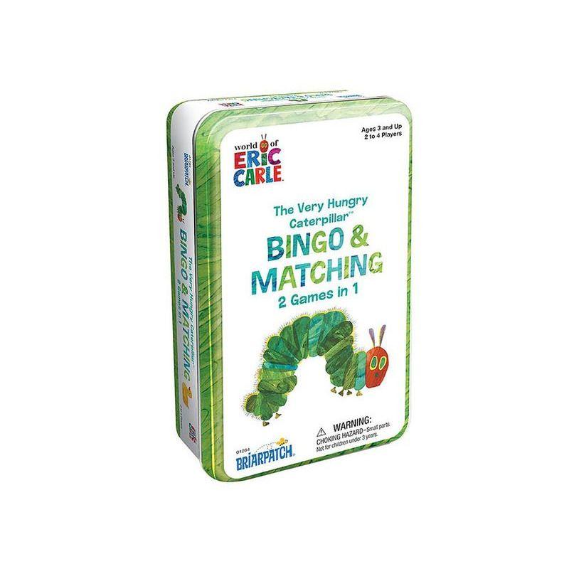 The Very Hungry Caterpillar Bing + Matching Game Tin