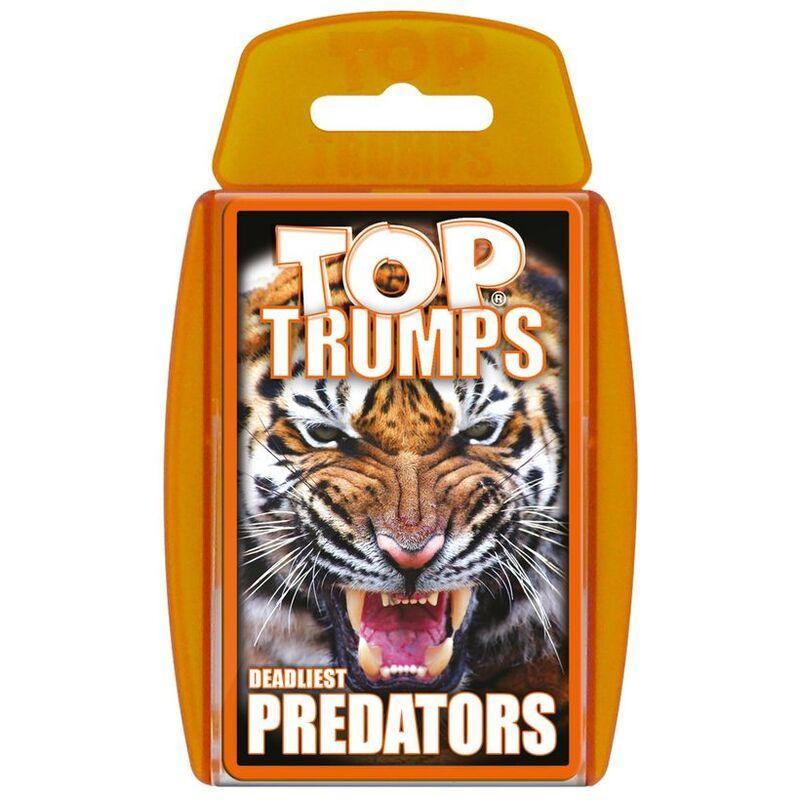 Top Trumps  Deadliest Predators