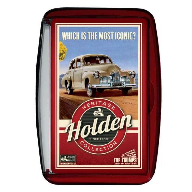 Top Trumps  Holden Heritage