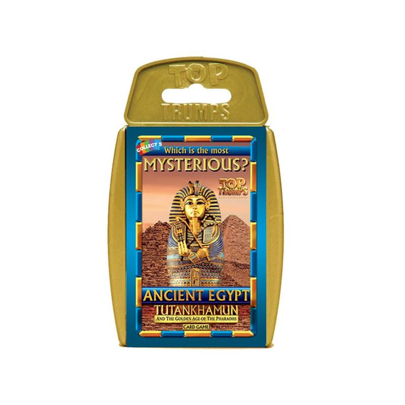 Top Trumps  Mysterious Ancient Egypt