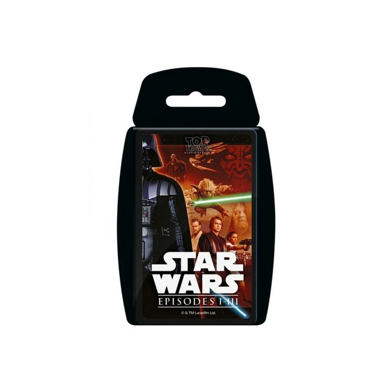 Top Trumps  Star Wars Episodes I  III
