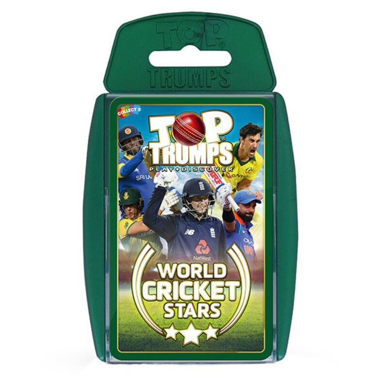 Top Trumps  World Cricket Stars
