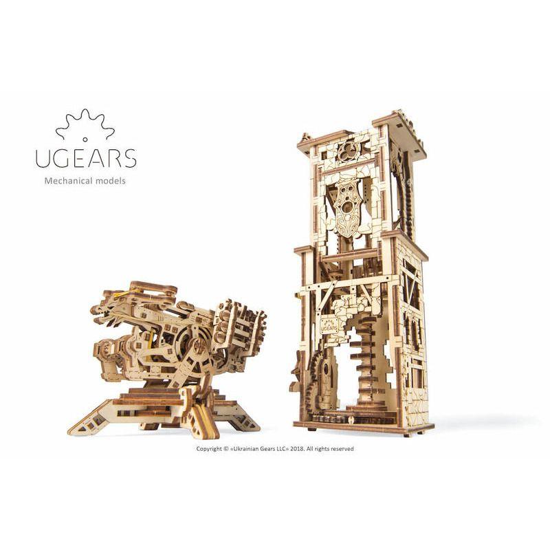 Ugears  Archballista Tower Mechanical Model Kit