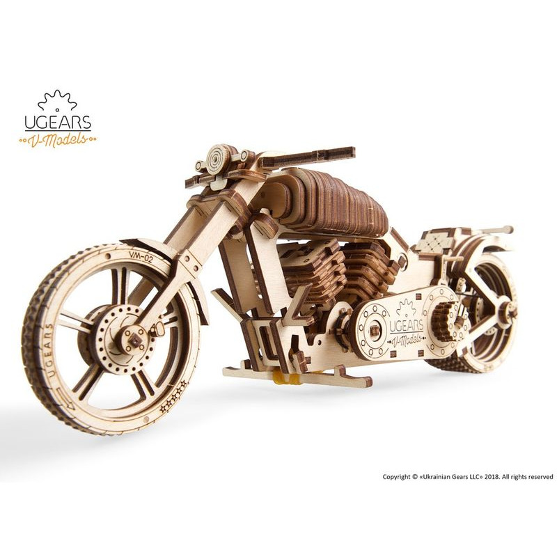 Ugears  Bike mechanical model kit
