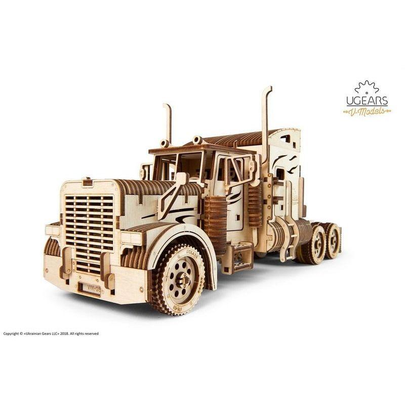 Ugears  Heavy Boy Truck VM03 mechanical model kit