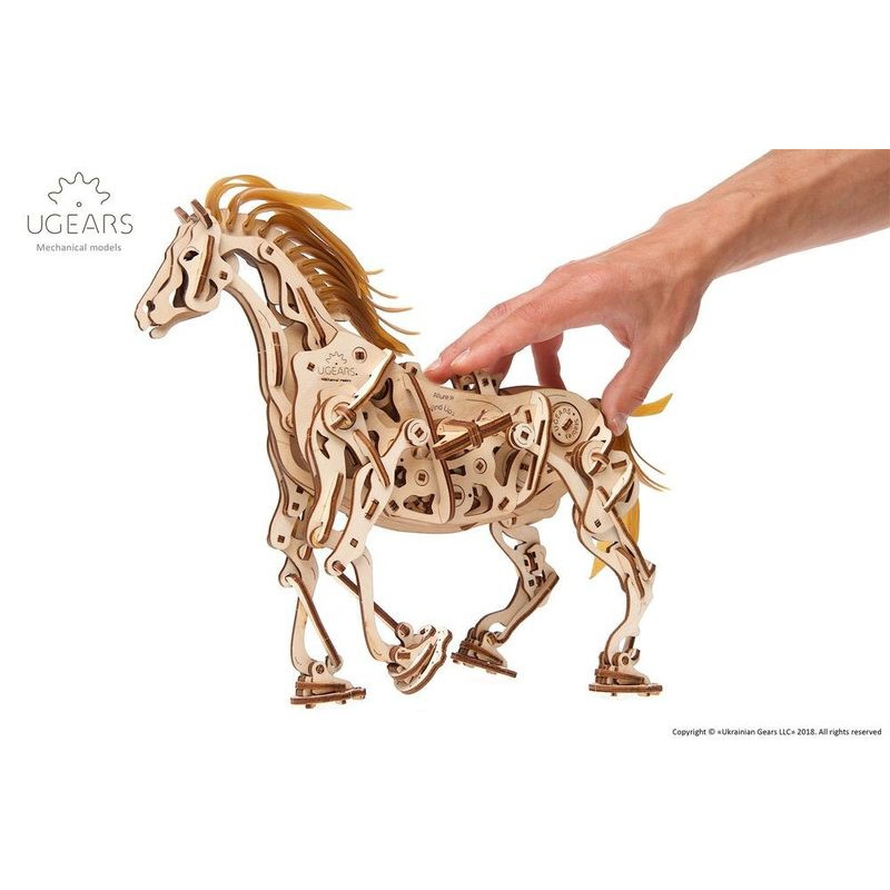 Ugears  Horse Mechanical Model Kit