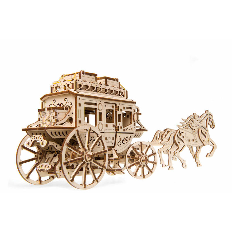 Ugears  Stagecoach Mechanical Model Kit