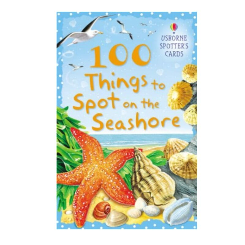 Usborne  100Things To Spot At The Seashore