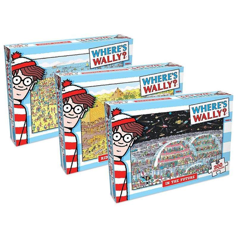 Wheres Wally Jigsaw