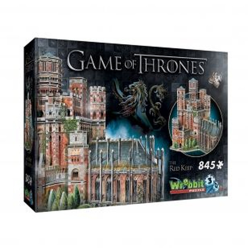Wrebbit 3D Puzzle  Red Keep Game of Thrones
