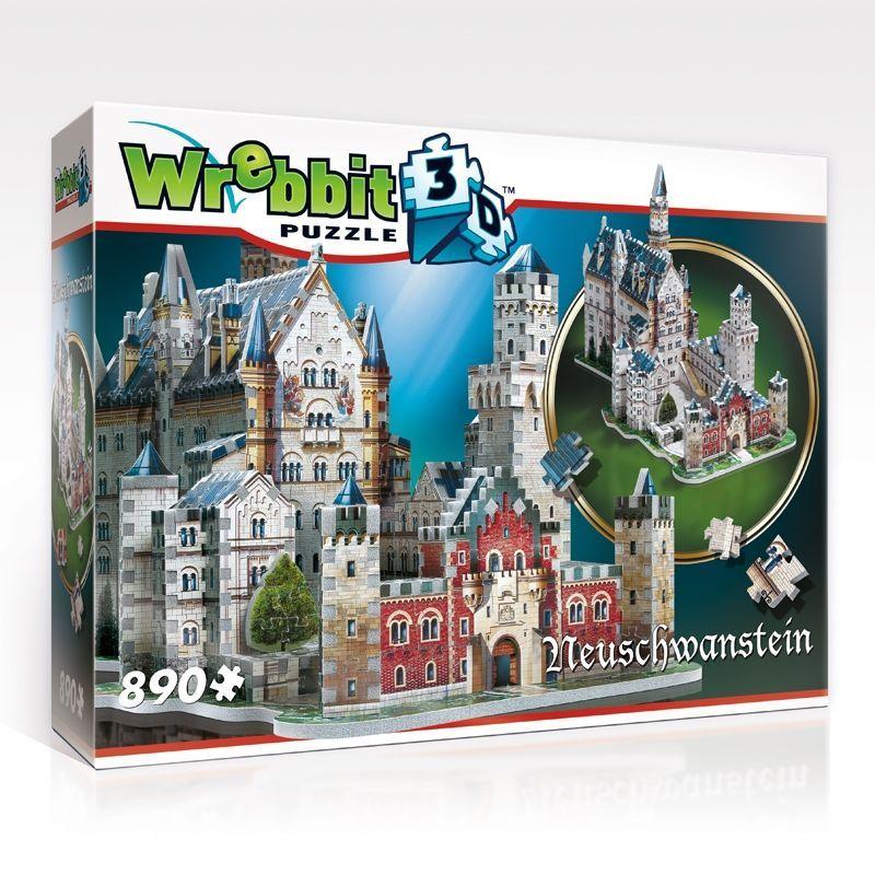 Wrebbit  3D Neuschwanstein
