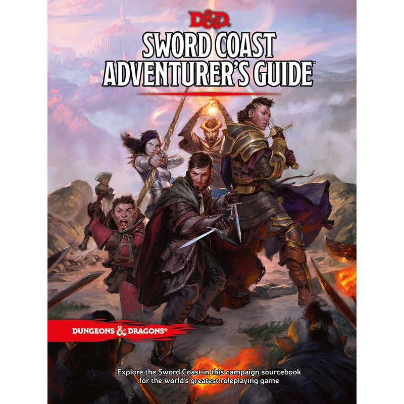 dungeons and Dragons  Sword Coast Adventurerand39s Guide