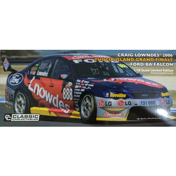 Ford BA Falcon 2006 Phillip Island Grand Finale - Craig Lowndes