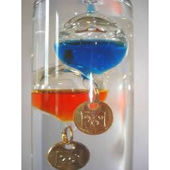 Galileo Thermometer   10 Ball