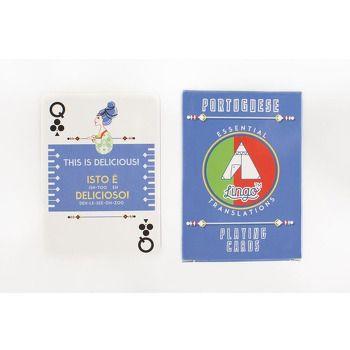 Lingo Playing Cards Single  Portugese