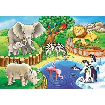 Ravensburger  Animals in the Zoo