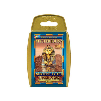 Top Trumps - Mysterious Ancient Egypt