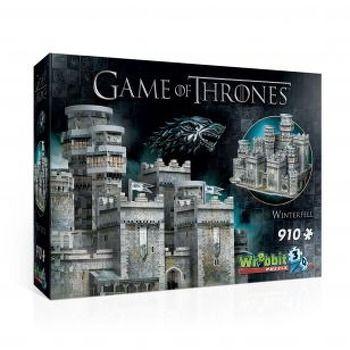 Wrebbit 3D Puzzle  Winterfell Game of Thrones